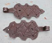1 Paar rustikale Schippenbänder