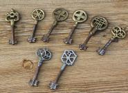 Ein Konvolut Tresorschlüssel