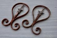 Zwei alte Zaunteile