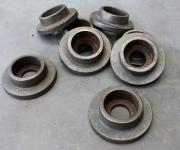 Druckverteiler für Eisenstangen
