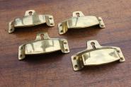 Muschelgriff mit Schlüsselloch, groß