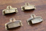 Muschelgriff mit Schlüsselloch, klein