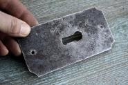 Großes altes Schlüsselschild
