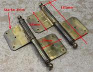 Messing-Fitschenband für eine rechts angeschlagenen Türe