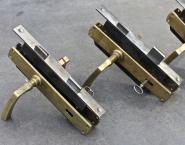 Drückergarnitur mit Einsteckschloss für links angeschlagene Türen