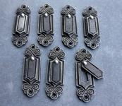 Schlüsselrosetten mit Kläppchen