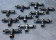 Eisenolive mit rundem Stiftloch