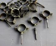 Rohrschelle für Aufputzmontage bis 35 mm Rohrdurchmesser