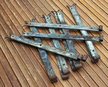 Alte Türbänder, 57,5 cm
