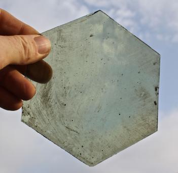 Alte Glasscheiben