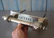 Sehr großer, alter französischer Ziehgriff mit Briefschlitz