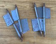 4er-Set Fitschenbänder für eine zweiflügelige Tür
