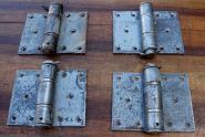Schwere Scharnierbänder für wandbündige Tür, Mentor II