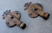 1 Paar blattförmige Schippenbänder