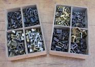 Alte kleine Schlüsselbuchsen