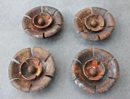 Originale Zierrosetten aus der Gründerzeit
