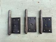 Drei Lappenband-Unterteile, rechts, 13mm