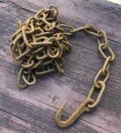 Lange rostige Eisenkette, 290cm