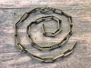 Alte rostige Eisenkette, 180cm
