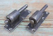 Schwere Plattenkloben mit Zierkopf, 16 mm