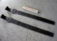Stabile Langbänder für eine Haustür, 72 cm