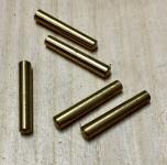 Druckerstifte / Splintstifte aus Messing 1,6 cm / 0,25 cm