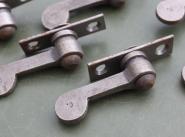 Vorreiber auf Platte, 6 mm Überschlag