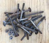 Schloßschraube M6 x 70, Sechskantmutter