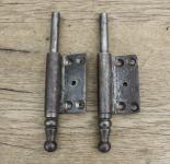 1 Paar Lappenband-Unterteile, rechts, 14mm