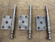 Drei Lappenband-Unterteile, links, 14mm