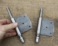 1 Paar Fitschenband-Unterteile, rechts, 13mm