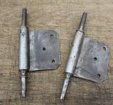 1 Paar Fitschenband-Unterteile, rechts, 11mm