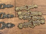 Konvolut von 13 gründerzeitlichen Schlüsselschildern