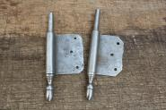 1 Paar Fitschenband-Unterteile, rechts, 14mm