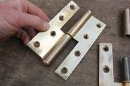 1 Set Lappenbänder für stumpf einschlagende Türen, rechts