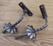 Handlaufstützen in Eisen
