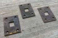 Grundplatten für Kloben