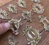 1 Konvolut  Schlüsselrosetten Barockstil, Repros
