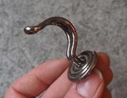"Halbrunde Drahthaken ""Spirale"", 5cm"