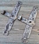 1 Paar schöne, alte Kreuzbänder