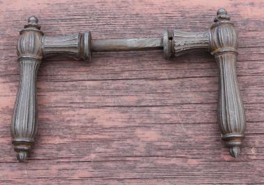 Haustürdrücker für Kastenschloss um 1890