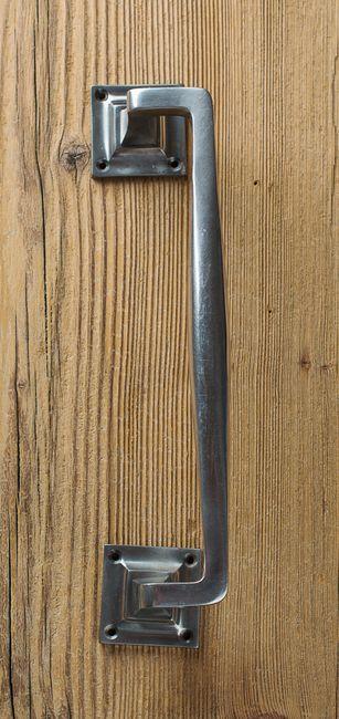 Art Déco-Ziehgriff aus Neusilber