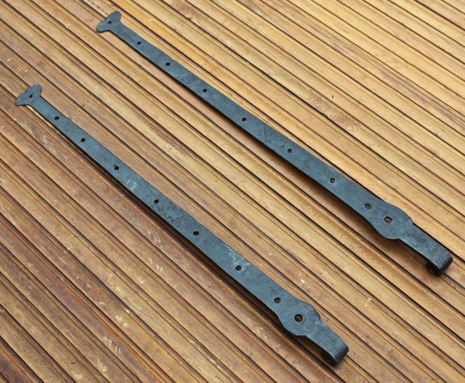 Paar lange Türbänder, 19.Jh.
