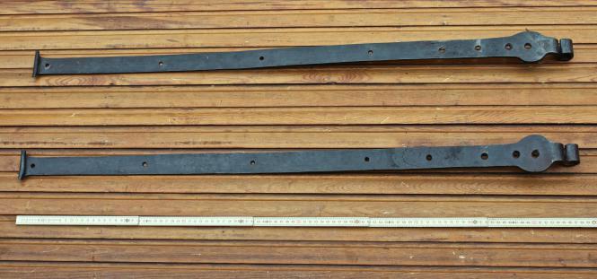 Alte lange Türbänder, 19.Jh.