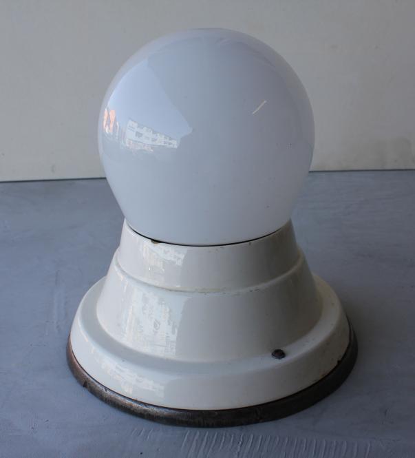 Schwere Deckenlampe