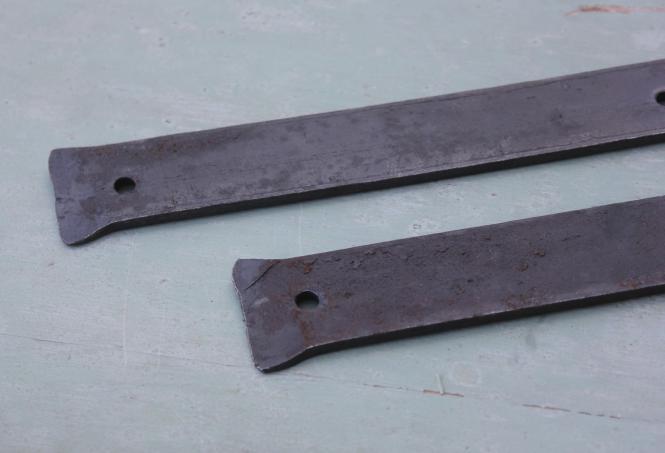 Originale Langbänder, 42,5 cm