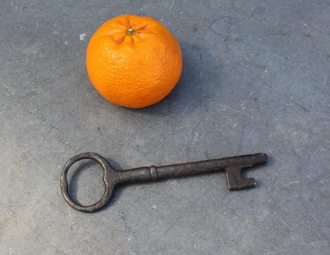 Handgeschmiedeter Schlüssel
