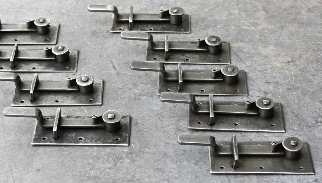 Verschlussmechanismus für Fensterläden