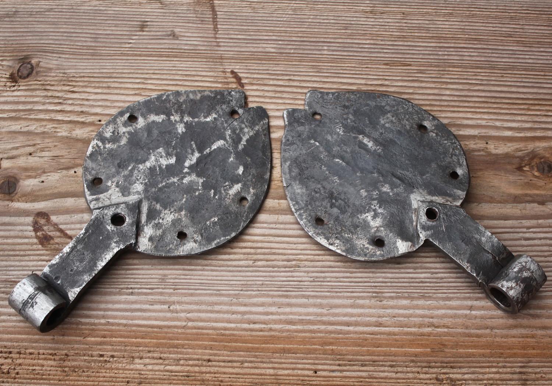historische kleinteile | 1 paar alte türbeschläge | online kaufen